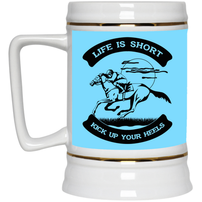 Nice Horse Mug - Life Is Short Kick Up Your Heels, is a cool gift