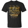 Get On Track And Move Closer To Your Dreams And Goals Father Son T Shirt