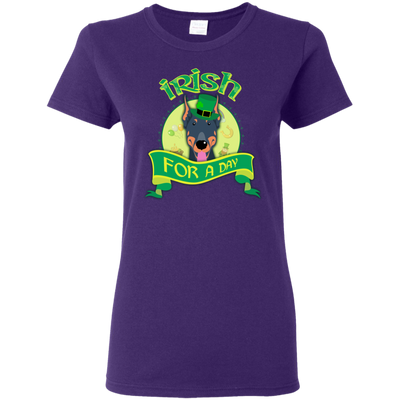 Nice Doberman T Shirt - Irish For A Day, is a cool gift for friends