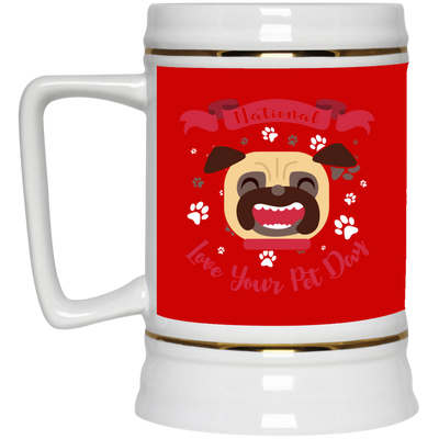 Nice Pug Mug - National Love Your Pet Day, is an awesome gift