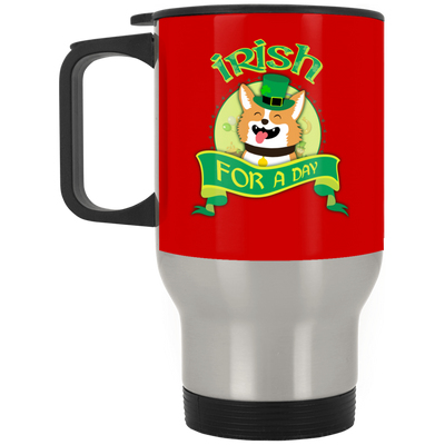 Nice Corgi Mug - Irish For A Day, is a cool gift for friends