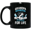 Grandpa & Grandson Best Fishing Friends Mug