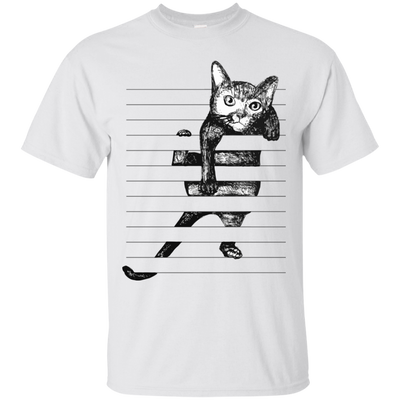 Nice Cat T Shirt - Cat Hanging, is a cool gift for your friends