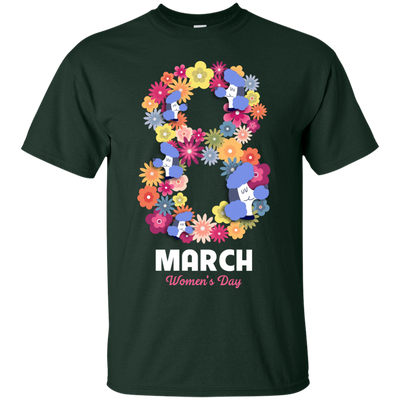 Women's Day Poodle T Shirt