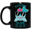 Deep Sea Lovely Color Sister Shark Mug