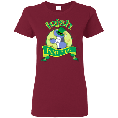 Nice Poodle T Shirt - Irish For A Day, is a cool gift for friends