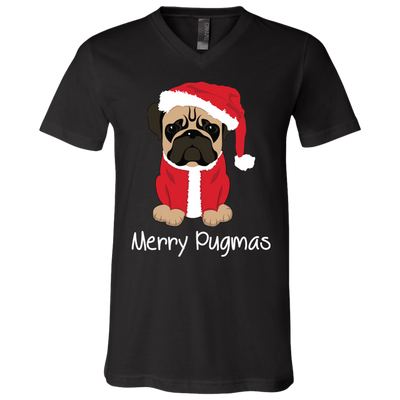 Merry Pugmas Cute T Shirt Christmas Gift Pug Fans