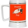 Nice Pug Mug - Pooped Pup, is a cool gift for friends and family