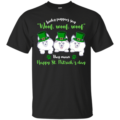 Nice Husky T Shirt - What Lucky Puppies Say, is a cool gift for you