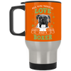 Nice Boxer Black Mug - All You Need Is Love And Boxer St Patrick
