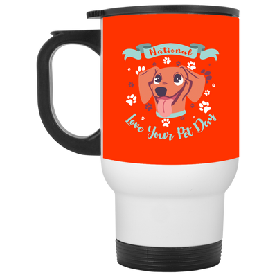 Nice Dachshund Mug - National Love Your Pet Day, is a cool gift