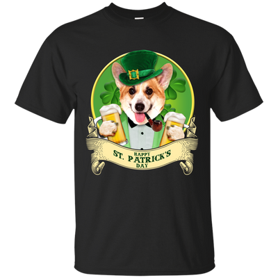 Nice Corgi T Shirt - Happy St Patrick's Day, is a cool gift for you