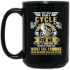 Riding A Cycle Cycling Mug