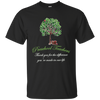 Thank You For The Difference You're Made In Our Life Green Tree T Shirt