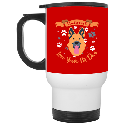 Nice German Shepherd Mug - National Love Your Pet Day, is a cool gift