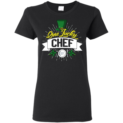 One Lucky Chef T Shirt
