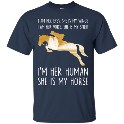Nice Horse T Shirt - She Is My Horse, is a cool gift for friends
