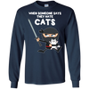 Nice Cat T Shirt - When Some One Says They Hate Cats, is cool gift