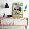 Grandson - You Are Special To Me - I Love You Grandma Custom Canvas Print