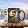 Mother Daughter - Eye To Eye And Heart To Heart Custom Mug