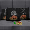My Soul Knows You're Peace Horse Custom Pillow Cover