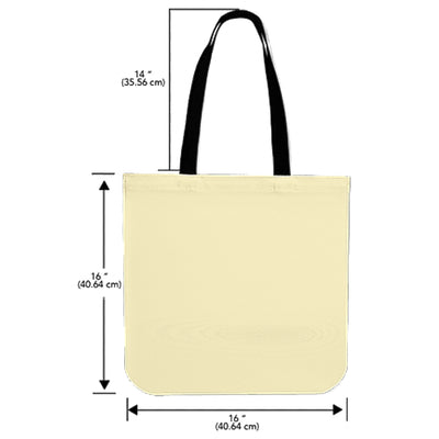 Husky - I'm Just A Happier Person Tote Bag