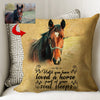 Your Soul Sleeps Until You Loved A Horse Custom Pillow Cover