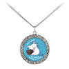 Eat Cakes Unicorn Stone Coin Necklace