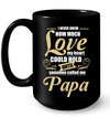 I Never Knew How Much Love Papa Mug