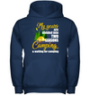 My Years Are Divided Into Two Seasons Camping T Shirt