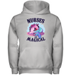 Nurses Are Magical Unimaid Unicorn Mermaid T Shirt