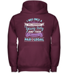 I Became A Lady Paralegal T Shirt