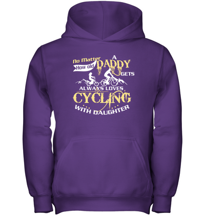 Always Loves Cycling With Daughter T Shirt