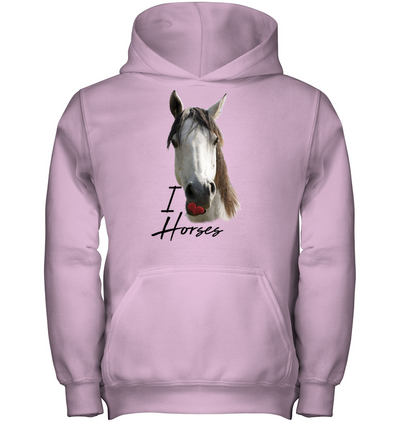 Horse - I Love You T Shirt