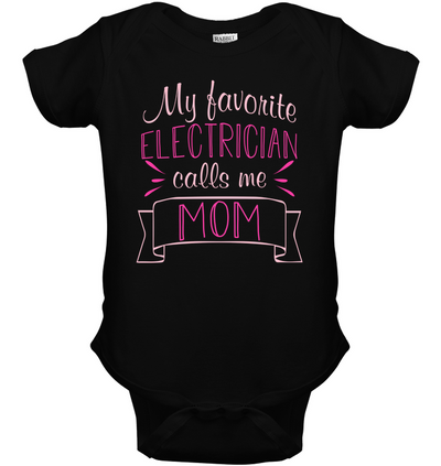 My Favorite Electrician Calls Me Mom T Shirt V2