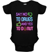 Say No To Drugs And Yes To Donut T Shirt