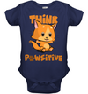 Think Pawsitive Cat T Shirt