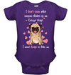 I Want Dogs To Like Me Pug T Shirt