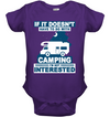 Camping - I'm Not Interested T Shirt
