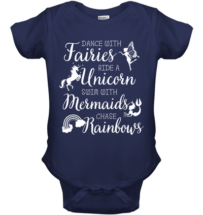Dance With Fairies Ride A Unicorn T Shirt