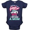 The Day I Became A Mom T Shirt
