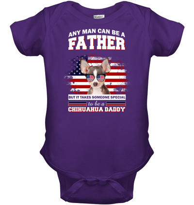It Takes Someone Special To Be A Chihuahua Daddy With American Flag T Shirt