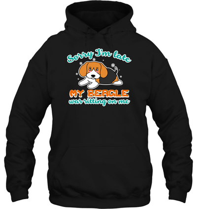 My Beagle Was Sitting On Me T Shirt