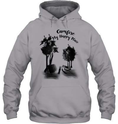 Campfire My Happy Place T Shirt V2