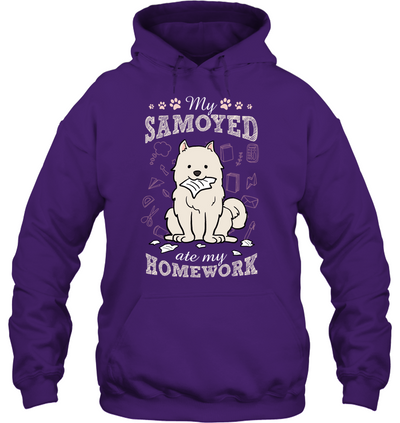 My Samoyed Ate My Homework T Shirt
