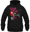 Girls Fish Too And Do It Better Fishing T Shirt