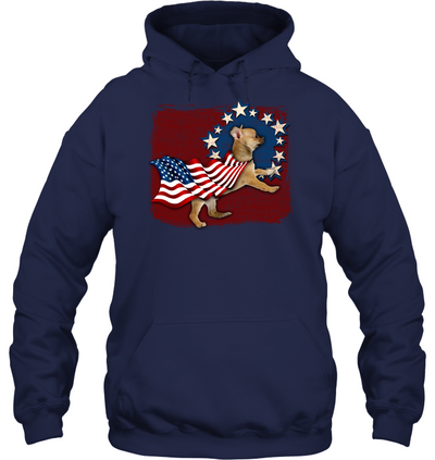 Independence Day Chihuahua T Shirt