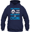 Some Grandpas Play Bingo Real Grandpas Go Cycling T Shirt