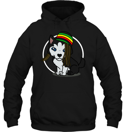 Reggae Shark Hairstyle Husky T Shirt