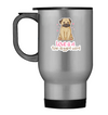 Pug - Love Is A Four legged Word Mug